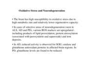 Oxidative Stress review