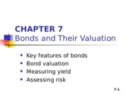 Chapter 07_Bonds and Their Valuation