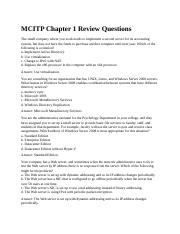 MCITP Chapter 1 Review Questions.docx