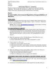 Study Guide-Ch 6 Consumers-Product Safety&Advertising