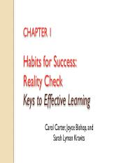 Jan 2018 Chapter 1 - Habits for Success - Reality Check.pdf