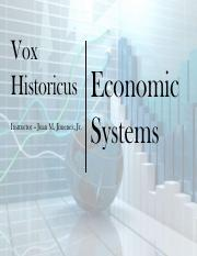 1-4 Economic Systems and Circular Flow