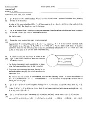Exam A Spring 2005 Solutions on Topology