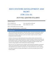 ITM 336 Info Sys. Dev. and Mgmt. Syllabus.pdf