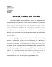 Denmark, Finland and Sweden FINAL PAPER.docx