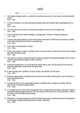 International Businesses Chapter 10 Questions and Answers