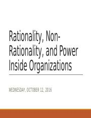 SOCI-ADMN 3320H - Rational, Non-Rational, and Inside Power - 12-10-16.pptx
