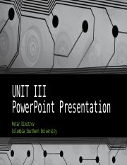 UNIT III PowerPoint Presentation.pptx