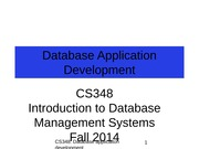 7_Database_Application_Development_notes
