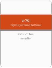 05-Review-of-C++-Basics-and-const-Qualifier