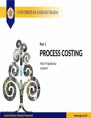Lecture 5 process costing part 1 answer