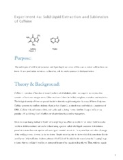 4a Extraction and Sublimation of Caffeine.pdf