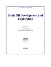 Abstract-Shale Oil
