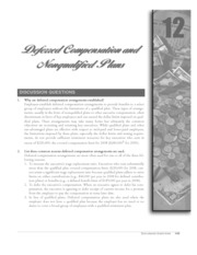 chapter 12 deferred compensation and nonqualified plans
