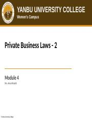 152_MGT315_Module_4_-_Private_Business_Laws_-_2