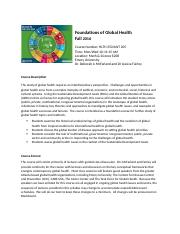 Foundations of Global Health HLTH 250 Fall 2016_092116.docx