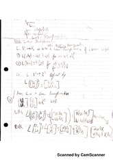 Notes on Linear Transformation