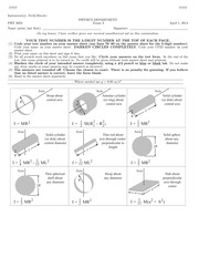 PHY 2048 Spring 2014 Exam 2