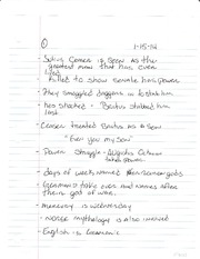 WOH2012 Chapter 2 Notes
