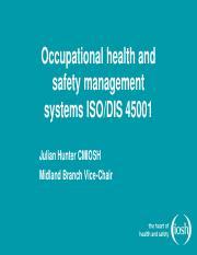 SGS CBE ISO 45001 Readiness Checklist EN pdf - 374 million non-fatal