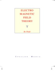 (ebook Physics) - Electro magnetic field theory