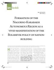 Formation of Karabakh Autonomous Republic.pdf