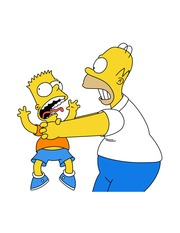 bart and homer 7