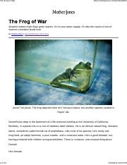 The Frog of War-research and policy.pdf