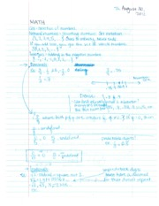 Math 107B rational numbers and properties of numbers notes