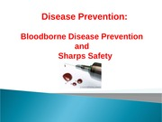 Week #12 b- Bloodborne Pathogens