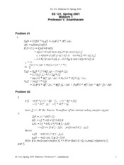 Midterm 6 Solutions