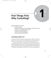 why consulting