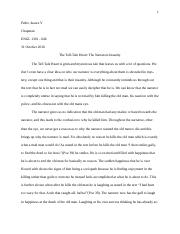 Tell-Tale Heart Essay(Word Export)