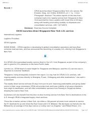 News LCL Singapore