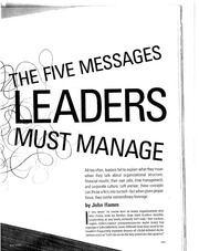 5 Messages Leaders Must Manage(1)