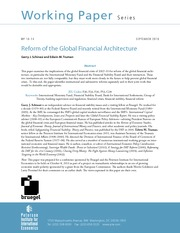 IR329_Reform of the global financial arcitecture