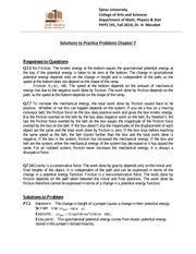 Solutions for PP7 PHYS191Fall-2014