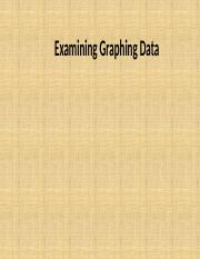 graphing data oral