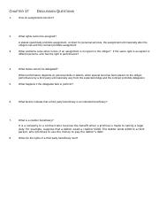 Chapter 17        Discussion Questions.docx
