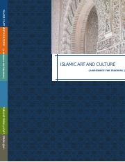 Islamic Art and Culture