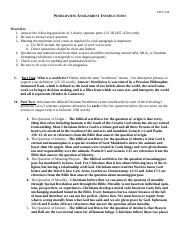 worldview assignment 2 essay