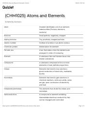 {CHM1025} Atoms and Elements Flashcards | Quizlet52.pdf