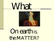 matter and the particle model ppt