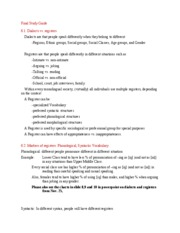 Final Study Guide 6.1-6.3 (doc)