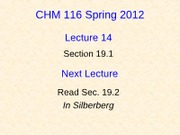 14 CHM116A Lecture 14-Student (revised)