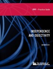 PG PROF-INDEPENDENCEOBJECTIVITY