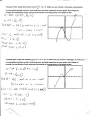 Common Core and Graph Notes