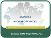 Information Technology-Chapter5