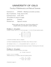 2011 Final Exam with Solutions