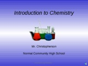 Unit 1 Intro to Chem